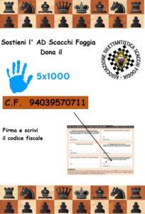 DONAZIONE AD SCACCHI FOGGIA